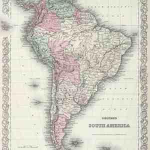 #3947 South America, 1874