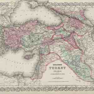 #3976 Turkey in Asia, 1874