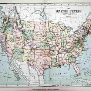 #752 United States, 1888