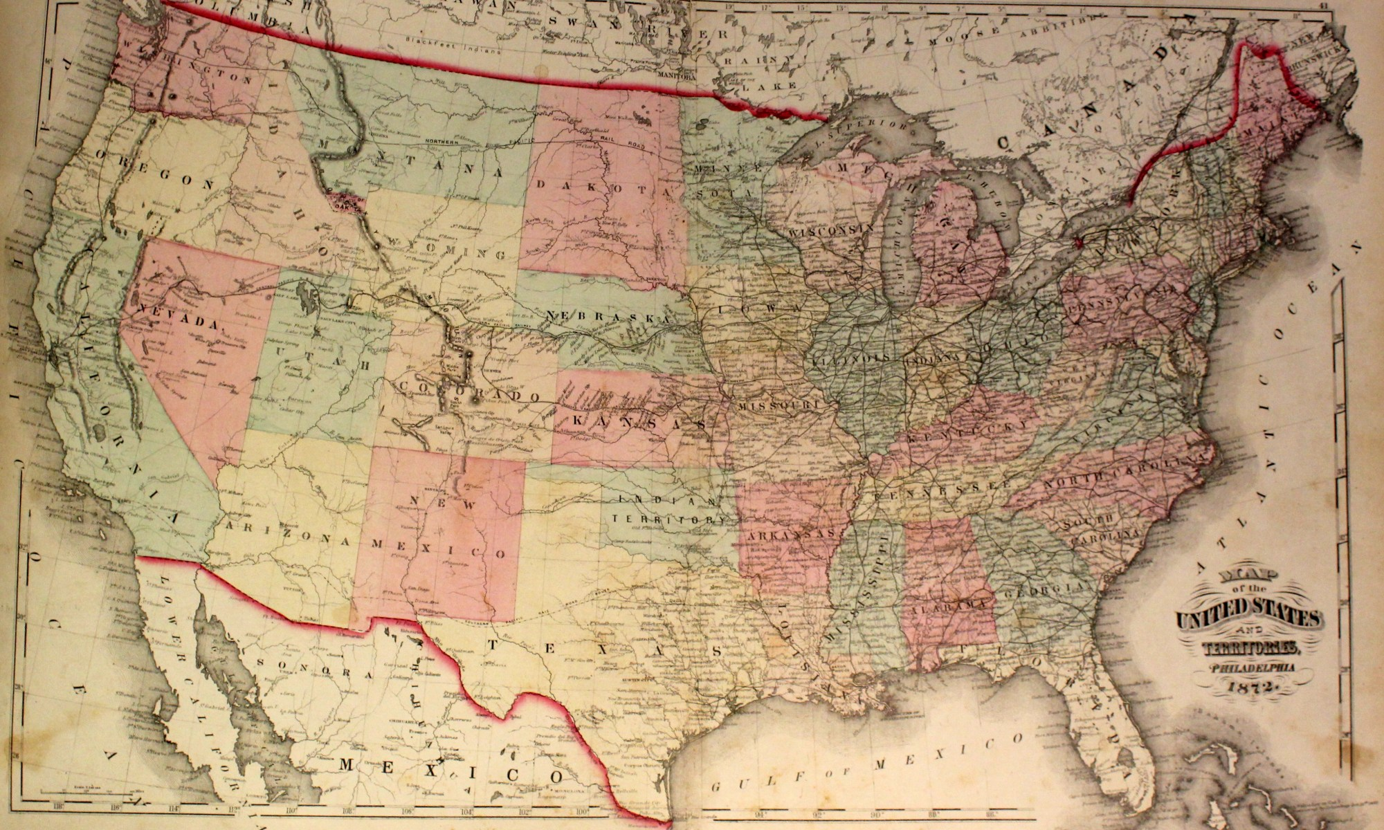 US States – Circle 7 Framing