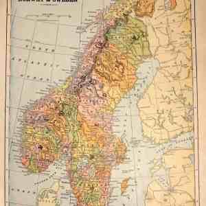 #1949 Norway & Sweden, 1898
