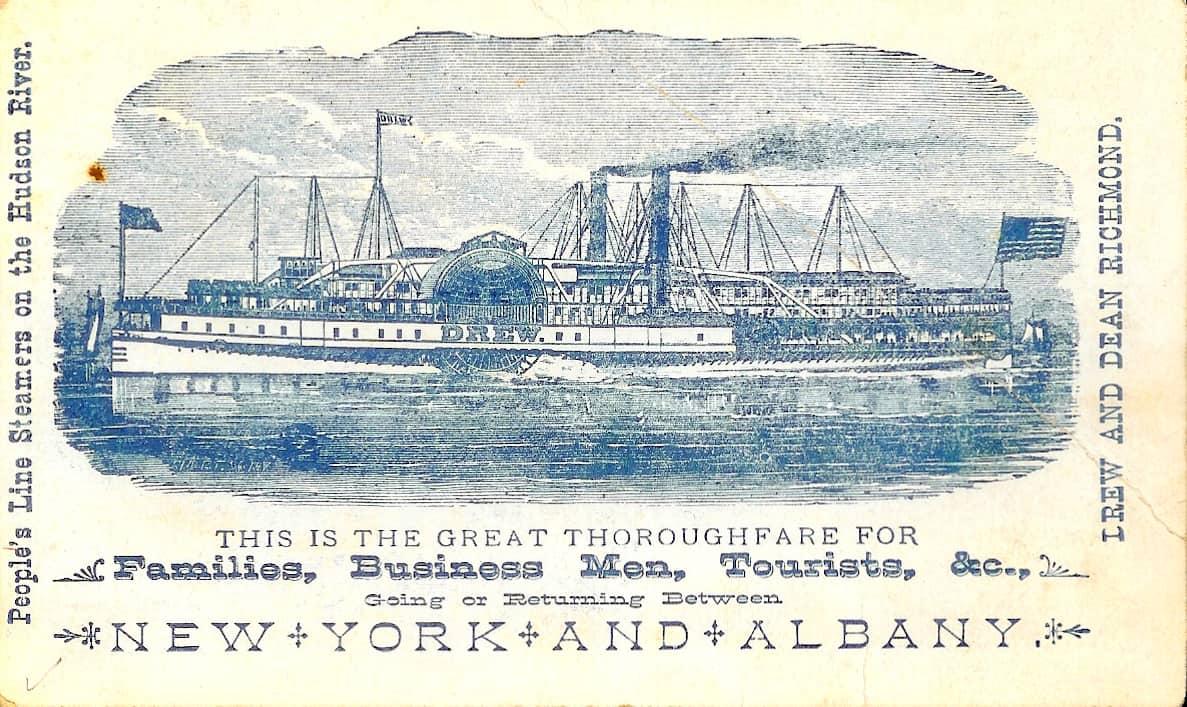 417 ny steamship card