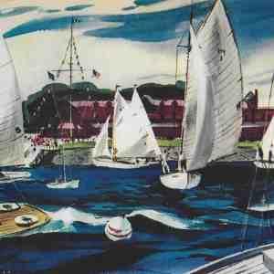#5001 Larchmont Yacht Club, 1939