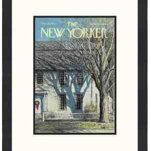 Original New Yorker Cover December 18, 1971