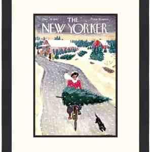 Original New Yorker Cover December 19, 1942