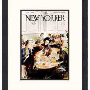 Original New Yorker Cover October 2, 1948