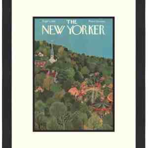 Original New Yorker Cover September 1, 1951