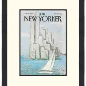 Original New Yorker Cover July 19, 1982