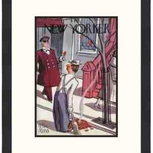 Original New Yorker Cover October 29, 1938