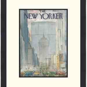 Original New Yorker Cover February 16, 1963