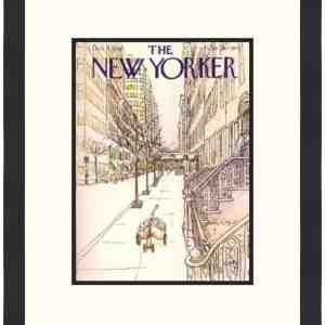 Original New Yorker Cover December 4, 1978