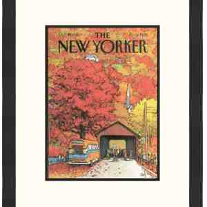 Original New Yorker Cover October 19, 1981