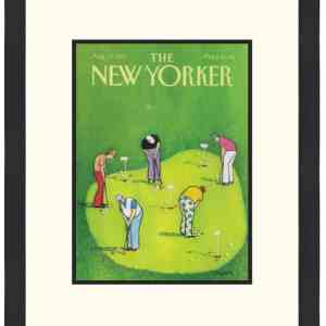 Original New Yorker Cover August 17, 1987
