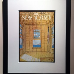 Original New Yorker Covers with Custom Framing
