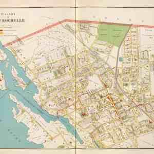 #4150 Village of New Rochelle, 1892
