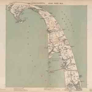 #F102 Cape Cod: Provincetown & Wellfleet, 1891