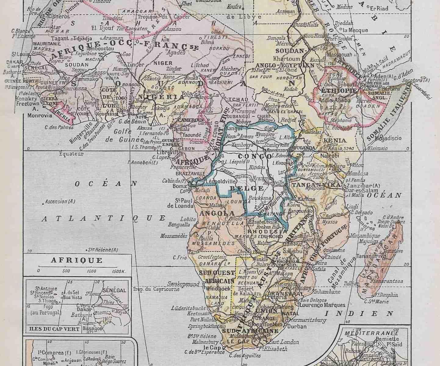 #2916 Africa 1922