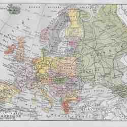 #2924 Europe 1922