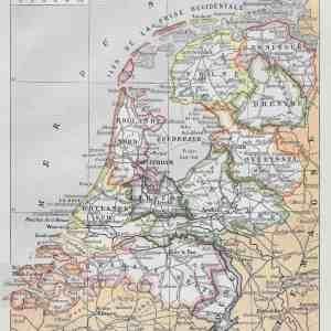 #2938 Netherlands, 1922