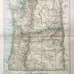 #3275 Oregon & Washington 1891