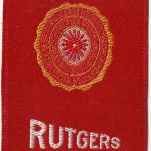#3598 Rutgers tobacco silk, 1910