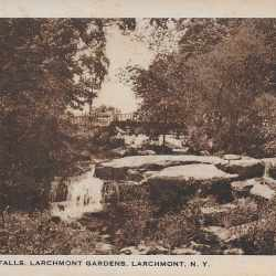 #4216 Waterfalls Larchmont Gardens 1931