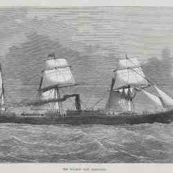 #1246 Steamer Lake Champlain 1875