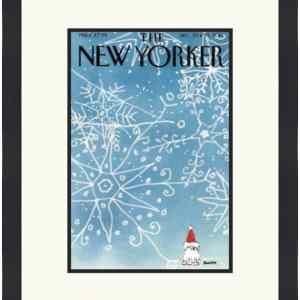 Original New Yorker Cover December 22, 2014