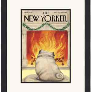 Original New Yorker Cover December 19-26, 2016