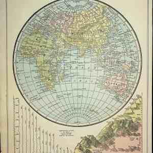 #1958 Eastern Hemisphere, 1898