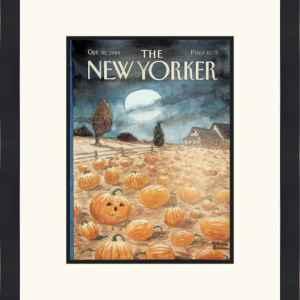 Original New Yorker Cover October 30, 1989