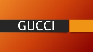 Marketing Strategy of GUCCI in UK