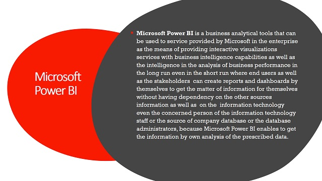 Microsoft Power BI certification