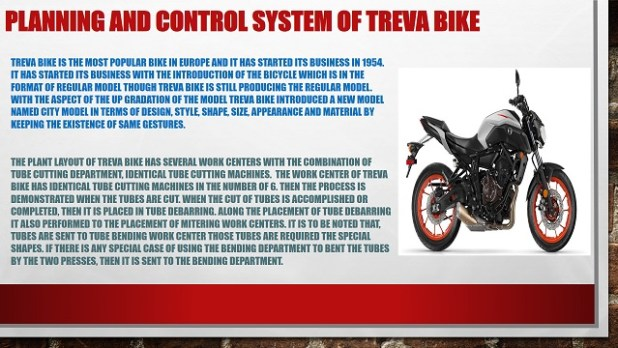 Planning and Control System
