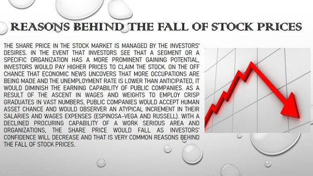 Reasons Behind The Fall of Stock Prices