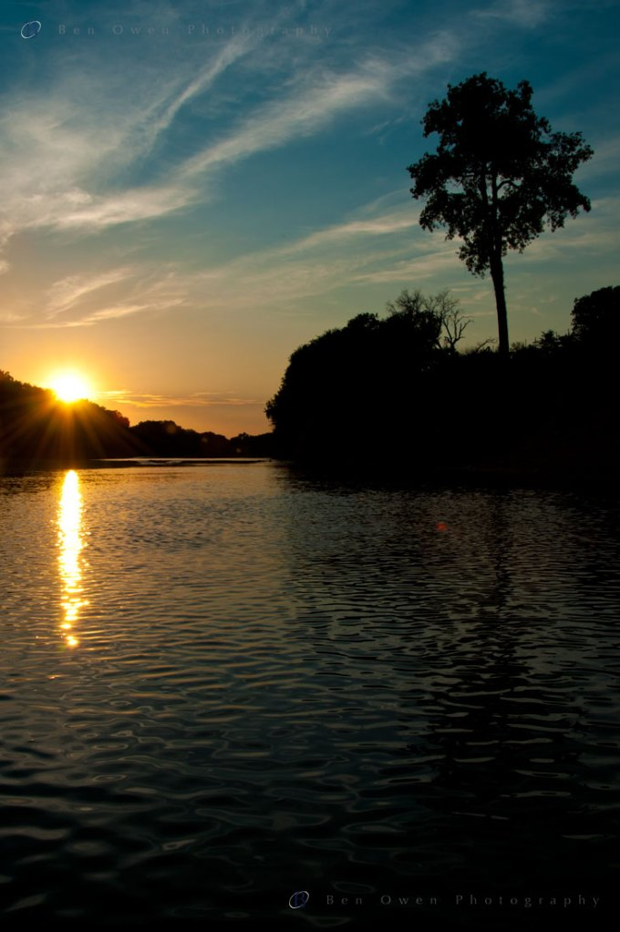 Sunset on the Brazos