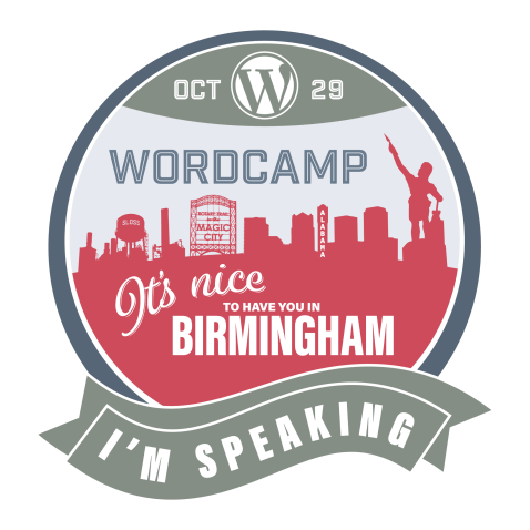 wordcamp-birmingham-badge-speaking