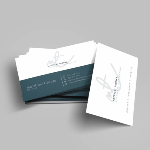 business card cape town