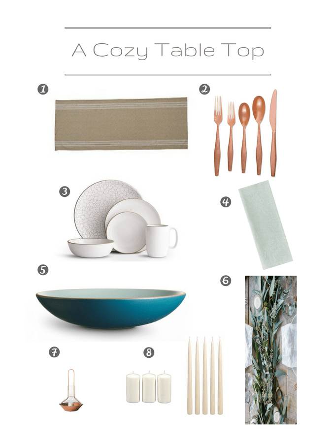Hygge Blue Table Setting