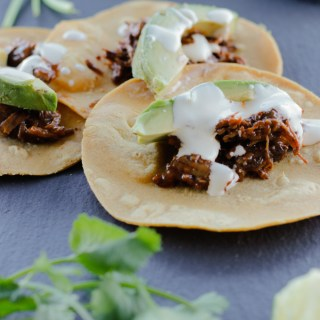 Instant Pot Barbacoa Tacos | circleofeaters.com