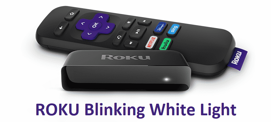 Roku is blinking