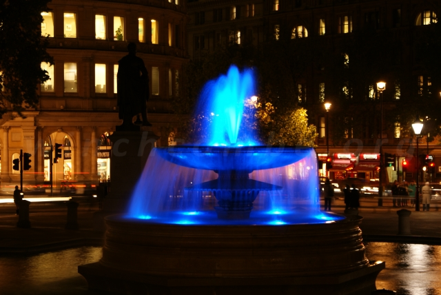 Trafalgar Square fountain