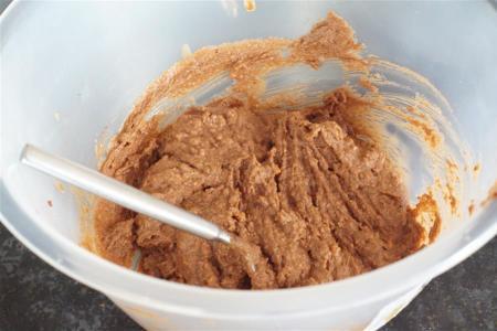 3-cheesecake base mixture