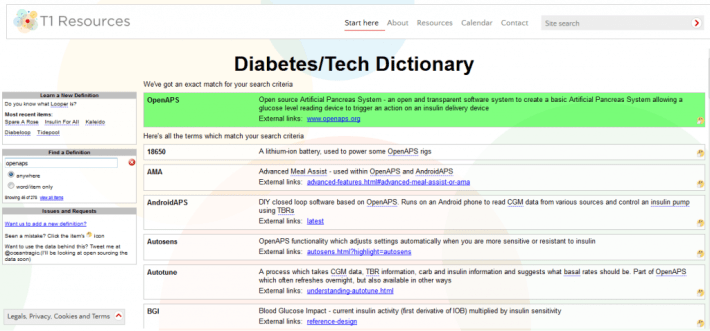 t1resources dictionary