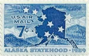 Alaska Statehood Stamp