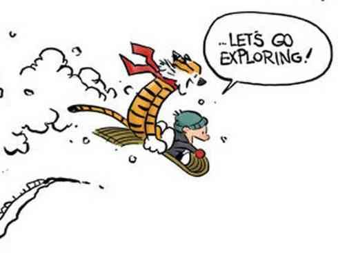 calvin-and-hobbes-let's go exploring