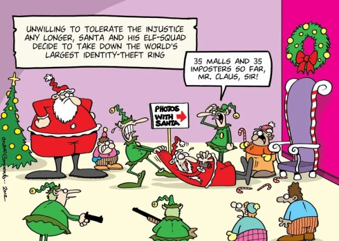 Santa ID Theft