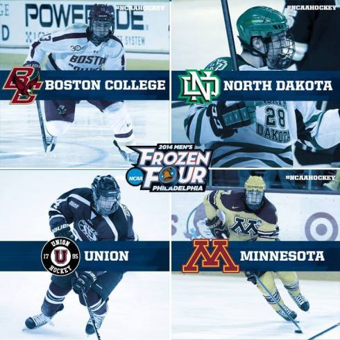 2014 Frozen Four Line Up