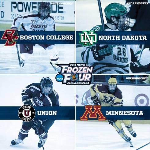 2014 Frozen Four Line Up
