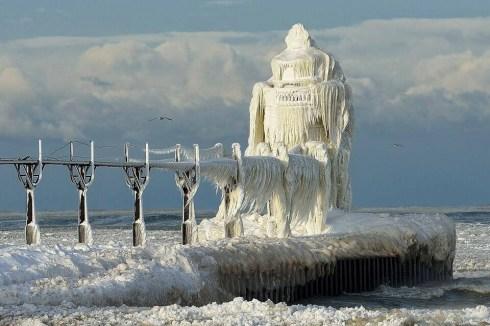 Frozen Light House